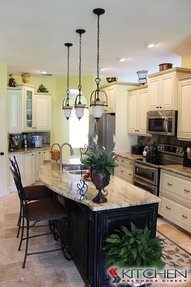 Two Toned Cabinets   Shabby Chic Kitchen   traditional   kitchen   other  metro   Kitchen Resource DirectBest 25  Discount kitchen cabinets ideas on Pinterest   Discount  . Discount Bathroom Vanity Columbus Ohio. Home Design Ideas