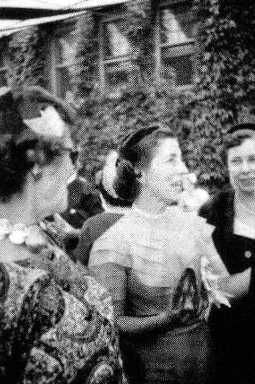 1953 09 12 Janet Auchincloss At Jfk Amp Jackie S Wedding