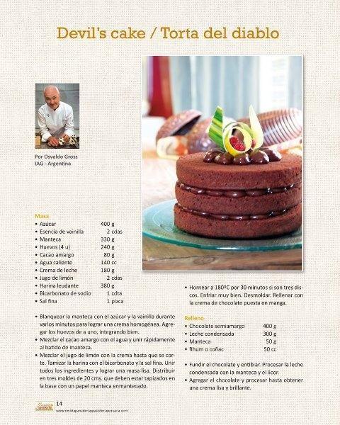 Osvaldo Gross en la Revista Panadería y Pastelería Peruana | IAG