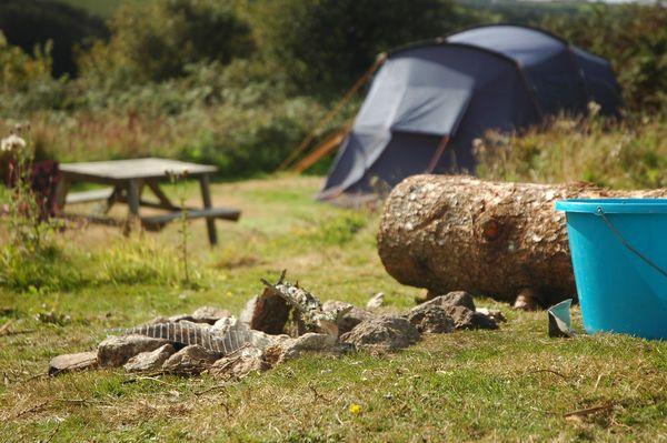 Teneriffe Farm, Helston, Cornwall. Campsite