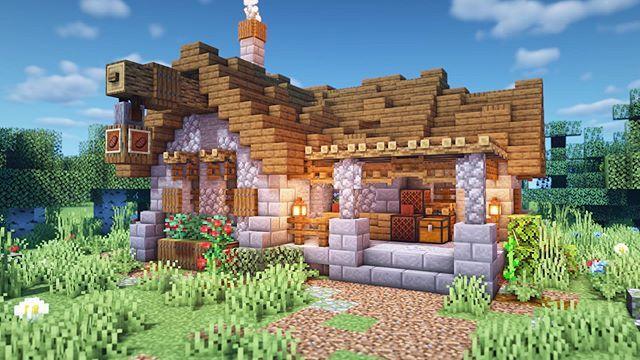 MythicalSausage в Instagram: My Plains Biome Village Butcher Shop!!! It s definitely one of my favorite in 2020 Minecraft shops Minecraft tutorial Minecraft medieval