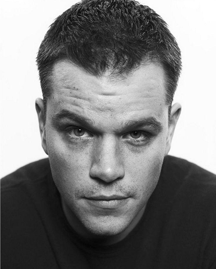 Matt Damon by Christian Witkin