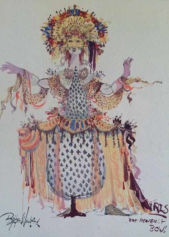 1960s Goddess of Iris by Bjørn Wiinblad by OutofCopenhagen