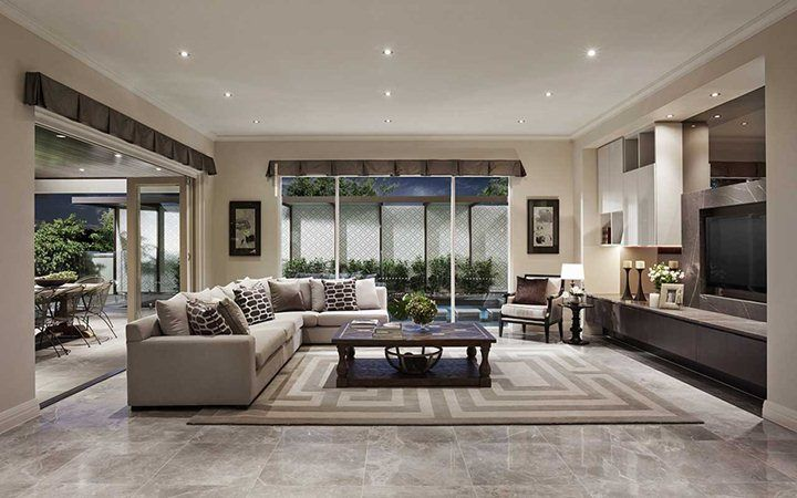 Living room new home designs metricon living dining pinterest new home designs design for Metricon homes interior design