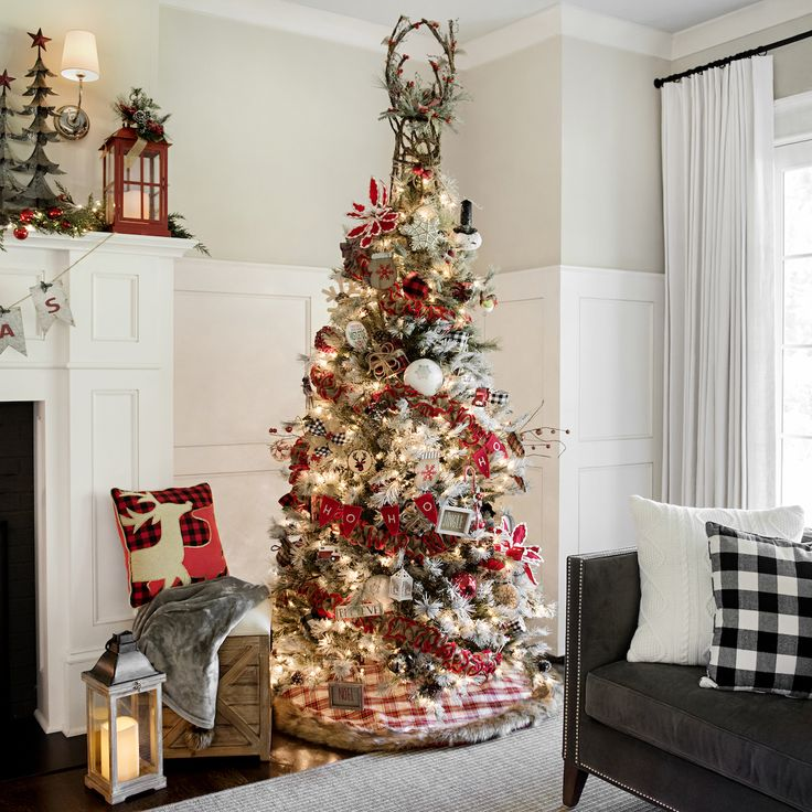 155 Best Decorating For Christmas Images On Pinterest