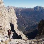 Forcella del Cason - Dolomiti Friulane http://www.ilmountainrider.com/itinerari/rifugio-pordenone/