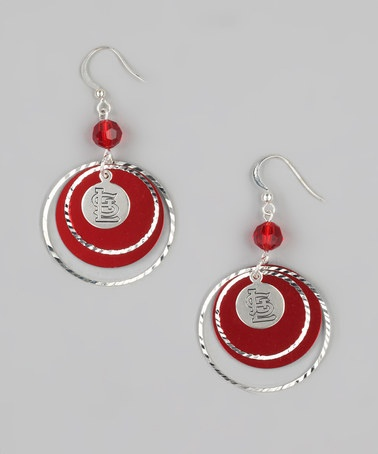 St. Louis Cardinals Game-Day Earrings by LogoArt on #zulily