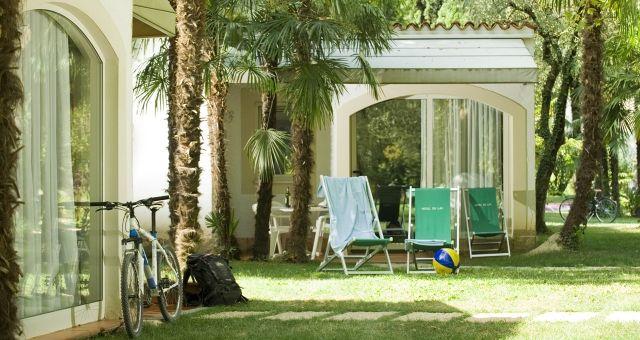 Bungalows Riva del Garda billige Unterkünfte am Gardasee direkt am Strand