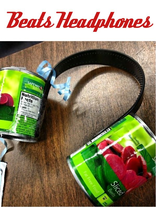 White Elephant, Funny & Gag Gifts ● Beats Headphones
