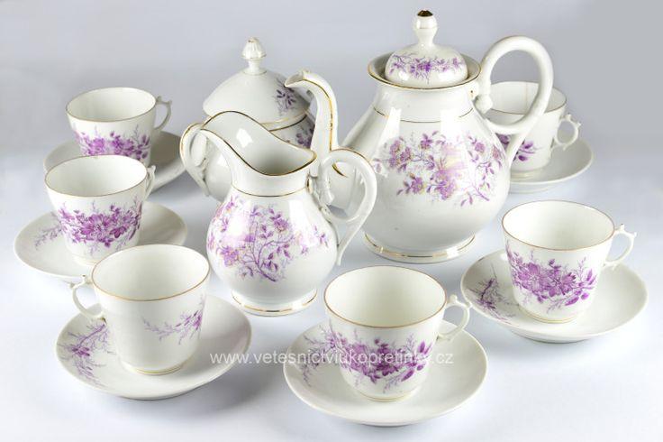 Starožitný čajový servis