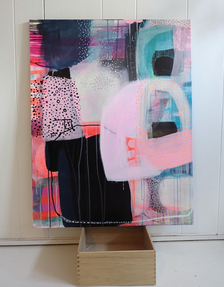 Acrylic painting by Mette Lindberg www.mettesmaleri.dk
