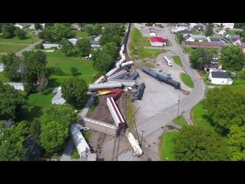 Kickstart your day with a good video! ⚡️Falmouth, KY Train Derailment (Aug. 2016) Drone Video for LEX18 News  https://youtube.com/watch?v=VAAJ_DXIibo