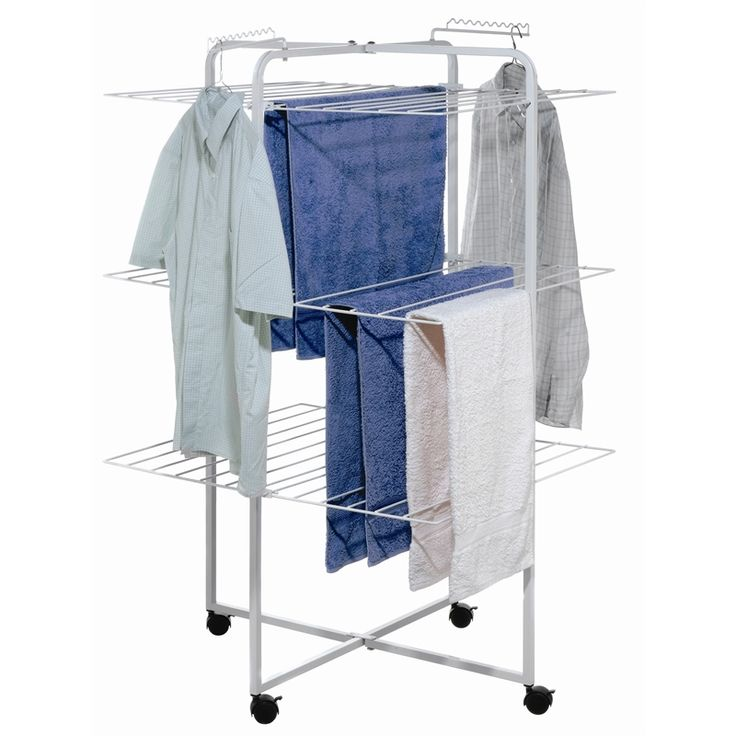 Find LTW 3 Tier 42 Rail White Clothes Airer With Castors at Bunnings Warehouse. Visit your local store for the widest range of storage & cleaning products.