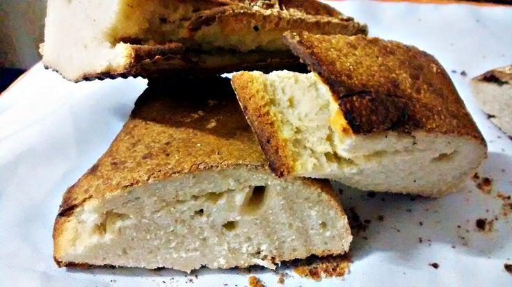 Joana Pães: Pão italiano rústico com fermentação lenta