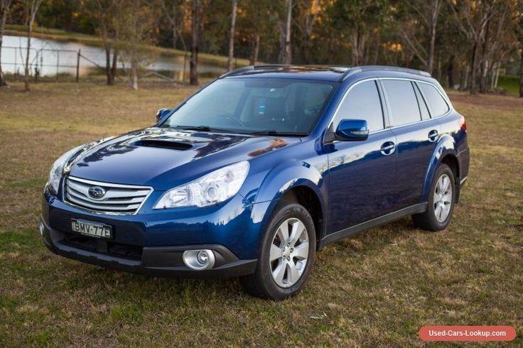 Subaru Outback  2010 2L Diesel Premium 4GEN Manual Nav Reverse Cam Sunroof #subaru #outback #forsale #australia