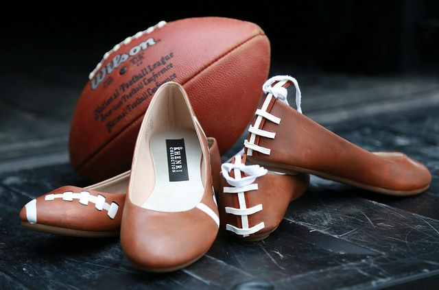 It's always nice to have the perfect shoes for every occasion...Football Flats