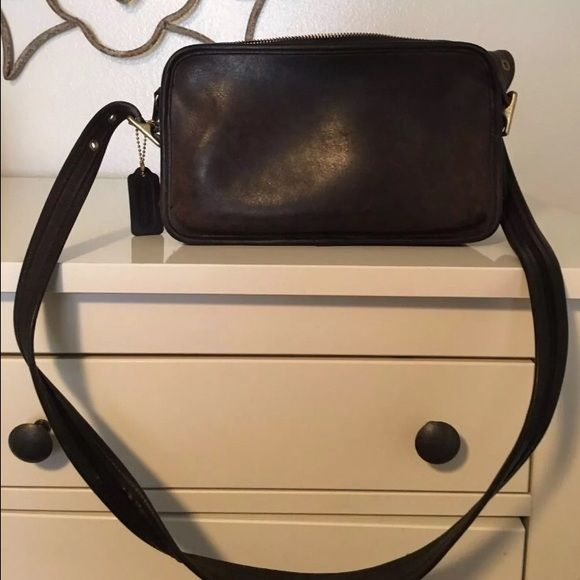 I just discovered this while shopping on Poshmark: Vintage Coach Leather Handbag (100% Authentic). Check it out!  Size: OS