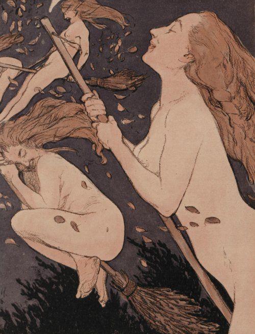 Walpurgis Sabbath by Adolf Münzer, 1906
