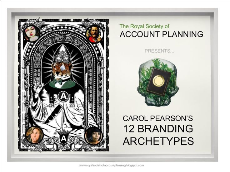 the-royal-society-of-account-planning-presents-the-12-branding-archetypes by adrianmng via Slideshare