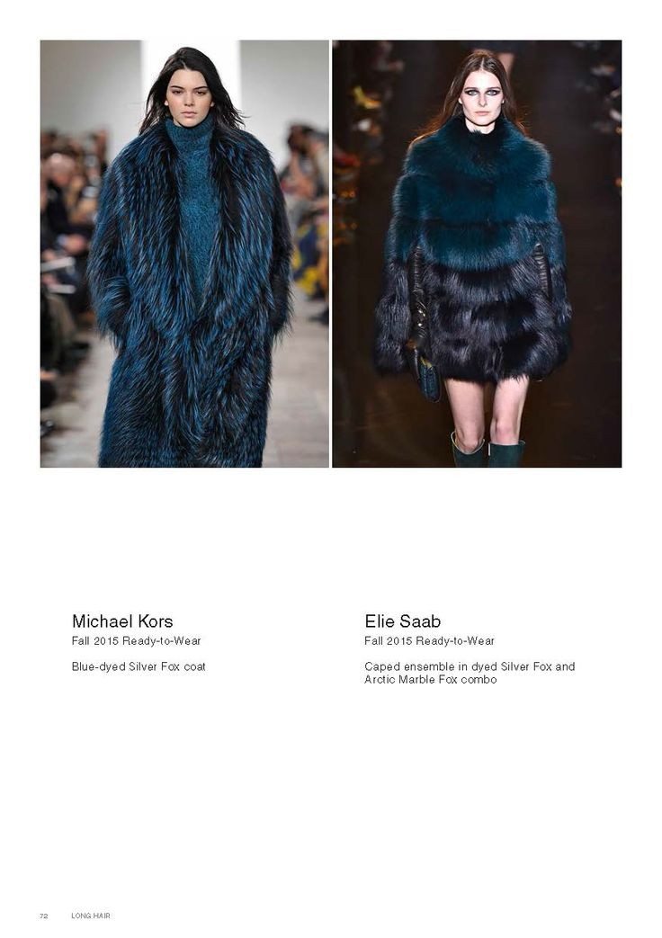 Saga Furs lookbook A/W 2015-16