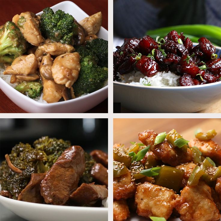 6 Chinese Take-Out-Inspired Dinners