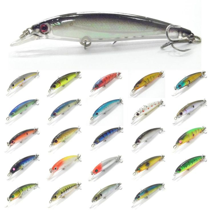 wLure Fishing Lure Minnow Crankbait Hard Bait Epoxy Coating Jerkbait Weight Transfer System Over 20 Colors 1/2oz 11cm M600 -- Click the image for detailed description