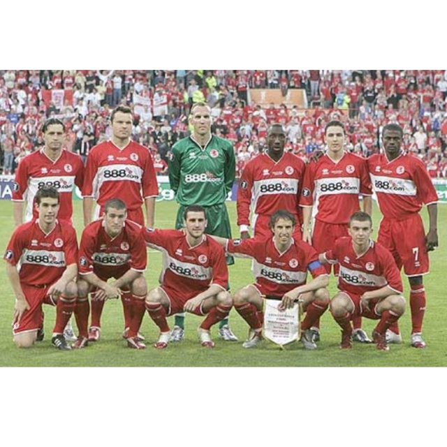 Middlesbrough F.C, UEFA Cup Final 2006 #football