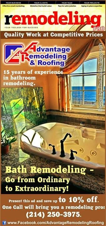 """Advantage Remodeling & Roofing: """"Go from Ordinary to Extraordinary!"""""""