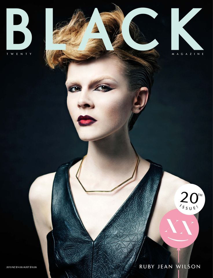 BLK #20 Ruby Jean cover Photo: Thom Kerr Stylist: Emma Read Hair: Iggy Make-up: James Molloy Model: Ruby Jean Wilson at Priscilla's Ruby wears: Ksubi and Man