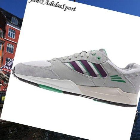 Kører Hvide Stamme Lilla Aluminium Grøn - Adidas Originaler Tech Super Mænd Sko HOT SALE! HOT PRICE!