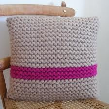 knitted cushion - Google Search