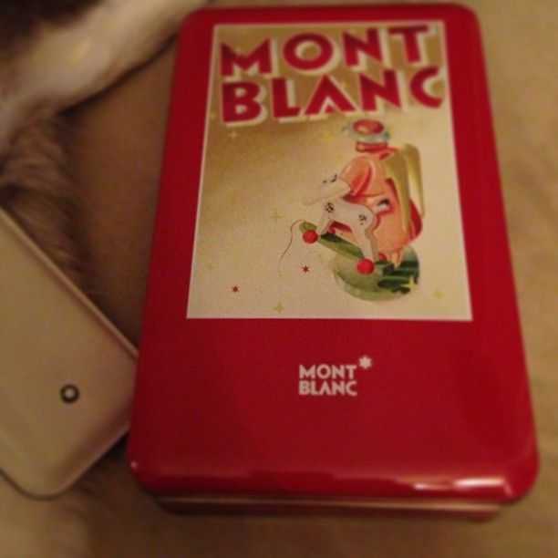 Thanks @Montblanc for this lovely Christmas present