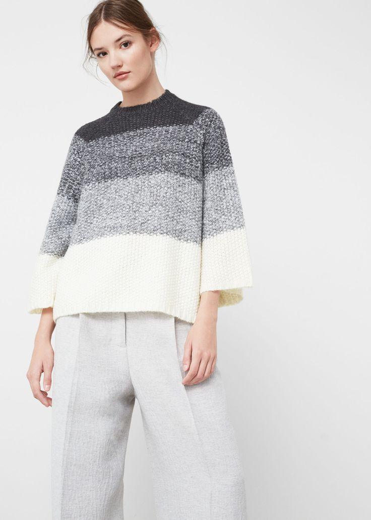 Camisola lã oversize (cinzento): MANGO (35,99€)