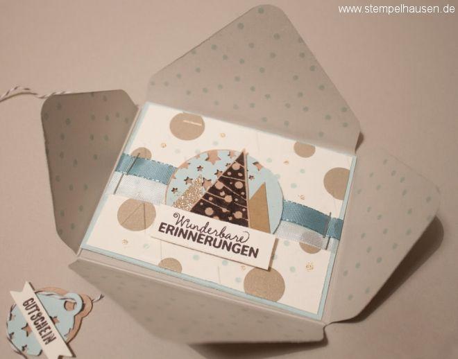 Gutschein für Weihnachten - Stampin' Up!