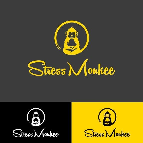 Create a simple, but fun pictural logo for Stress Monkee