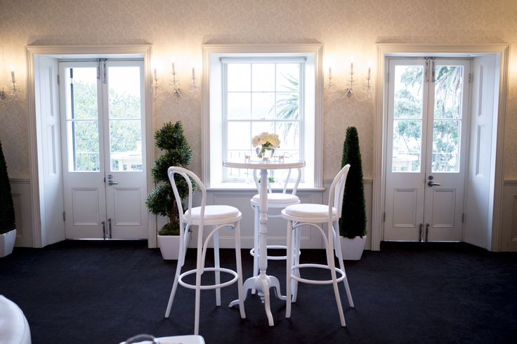 White on white engagement party styling. Furniture by @decorativeevents & flowers by @oliviamaiolo