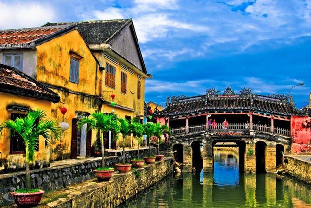 Phố cổ Hội An là điểm đến ưa thích của khách nước ngoài khi tới Việt Nam