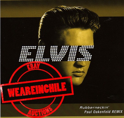 Elvis Presley maxi single made in Chile
