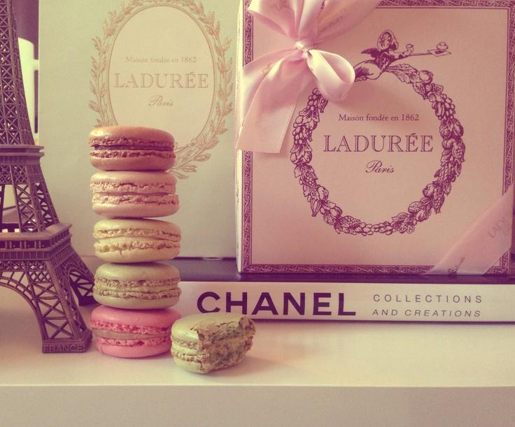 Laduree, Paris & Chanel By Alejandra Garibay