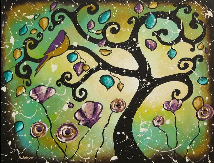 Whimsical Wall Art 9 best images about wall art on pinterest | trees, teal and