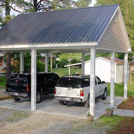 Car port design ideas free standing outdoor structures for Free standing carport plans