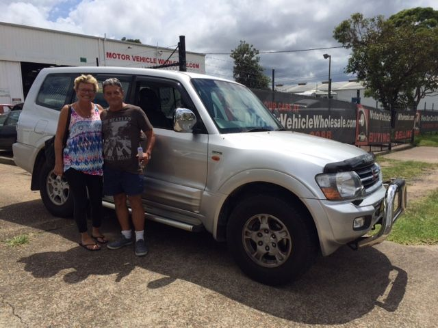 Pete and Annie picked up this Pajero Exceed This morning. Thanks for visiting Motor Vehicle Wholesale Dot Com.
