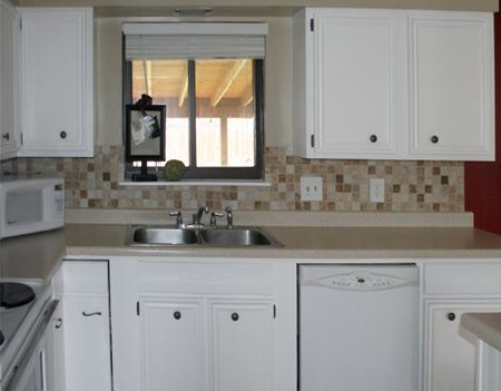 Looking to give your kitchen a makeover pop into your - Bathroom cabinets builders warehouse ...