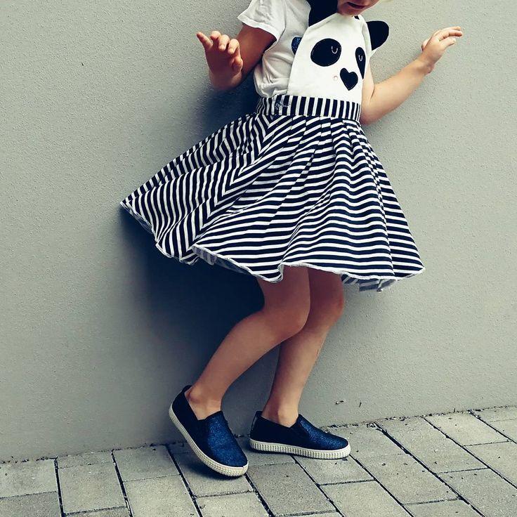 Sklep internetowy Lady Stump   Sukienka z szelkami Panda model