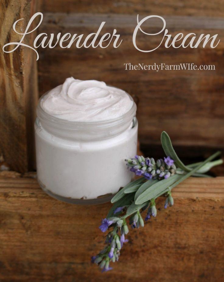 All Natural Lavender Hand & Body Cream Recipe