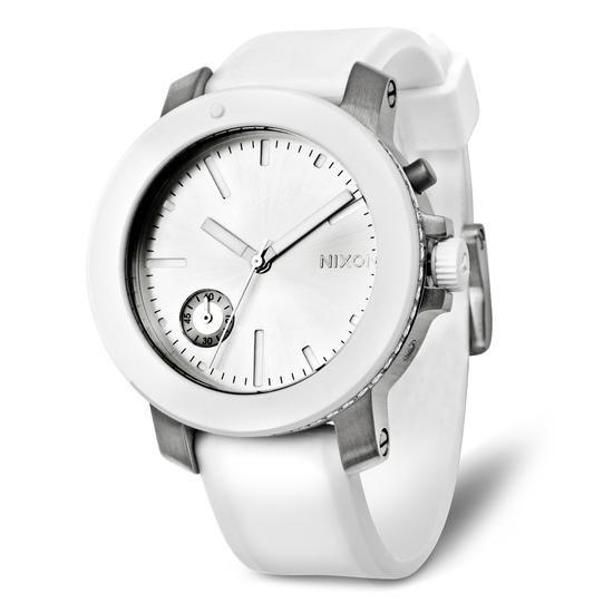 Zegarek NIXON, 1799 PLN www.YES.pl/55309-zegarek-nixon-TC32003-S0S00-INACRW-000 #jewellery #Watches #BizuteriaYES #watch #silver #elegant #classy #style #buy #Poland