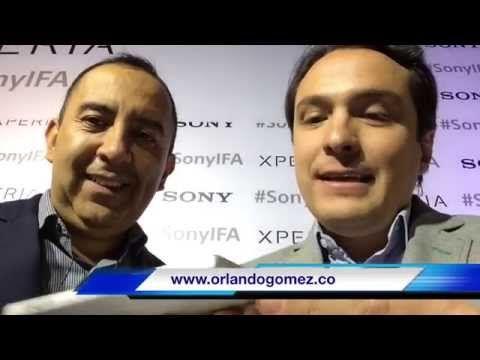 """""""Con los Xperia Z5 queremos convertir a nuestros usuarios en héroes"""": Felipe Behar, de Sony - Orlando Gómez"""