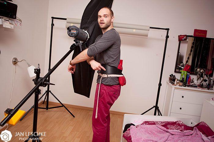 Making of vom Shooting mit Tabea Elkarra. Rückenschmerzen!! :P By Jan Leschke Photography #makingof #behindthescenes