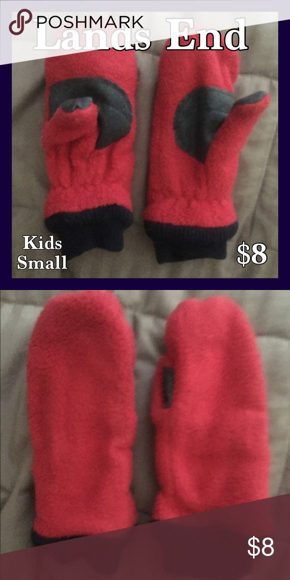 Lands End Kids Size Small. Berry Colored Mittens Lands End Berry Colored Mittens Size Small Kids. Only Worn A Couple Of Times, Still In Very Nice Condition!!! Lands' End Accessories Mittens