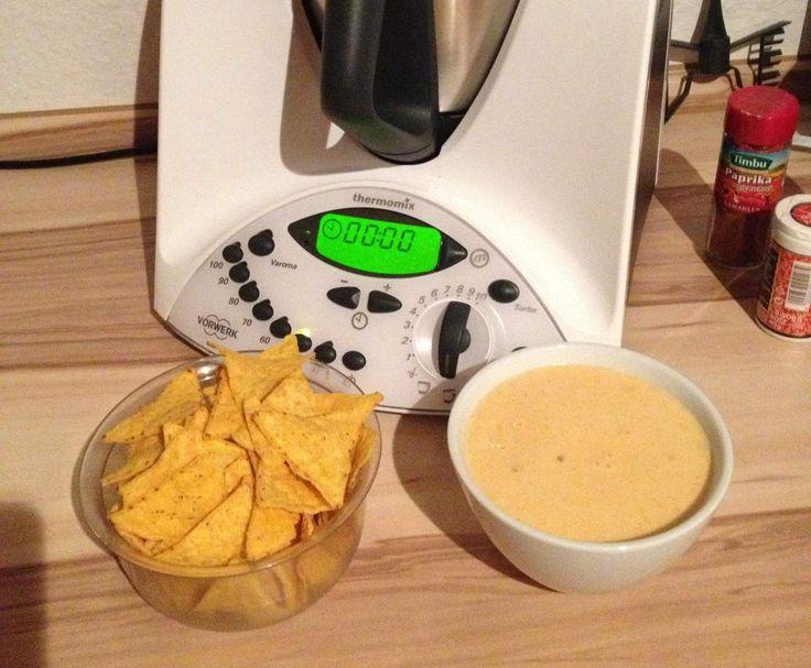 Rezept Nacho / Tortilla / Käsedip von Thermotrude - Rezept der Kategorie Saucen/Dips/Brotaufstriche